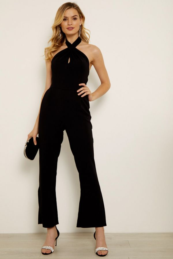 Black Halterneck Jumpsuit