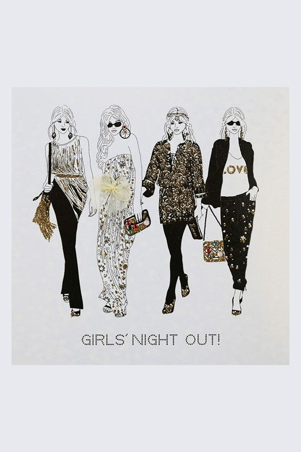 Birthday Card - Girls Night Out
