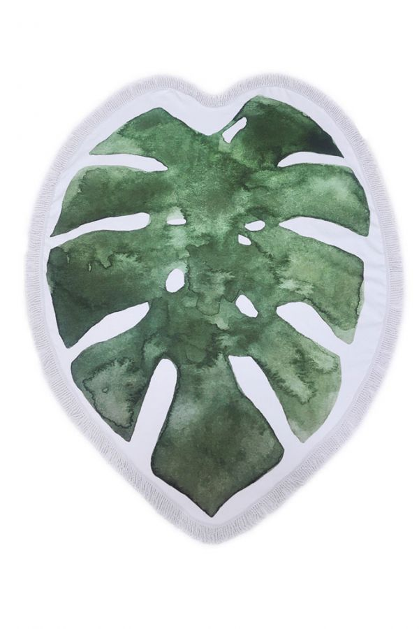 Green Leaf Chic Towel