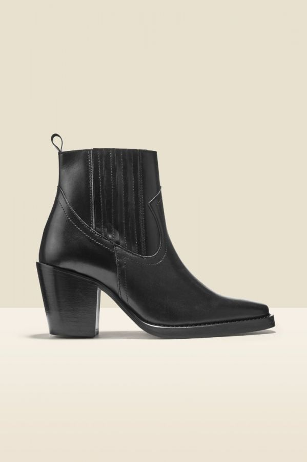 Ambush Black Western Ankle Boot