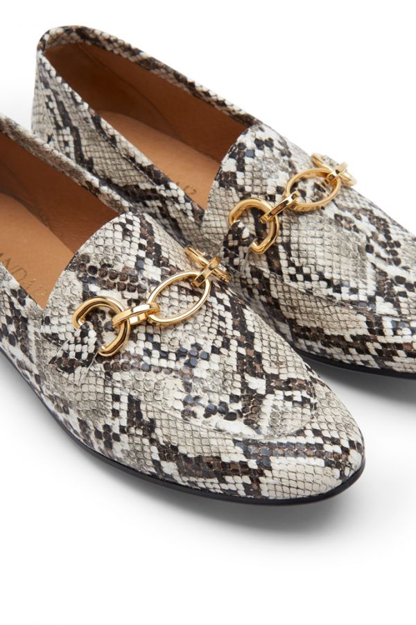 Saint Snake Leather Loafer