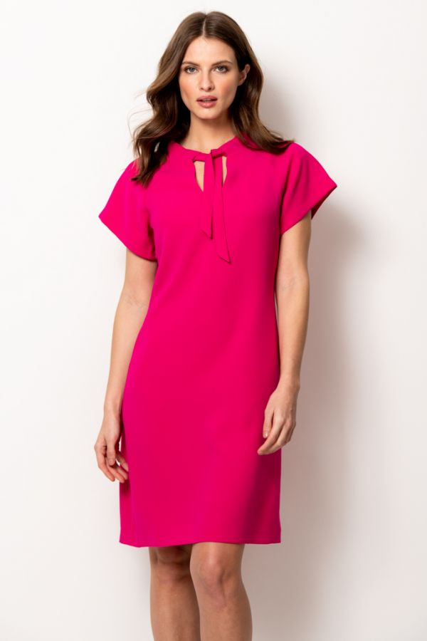 Pink Sascha Shift Dress