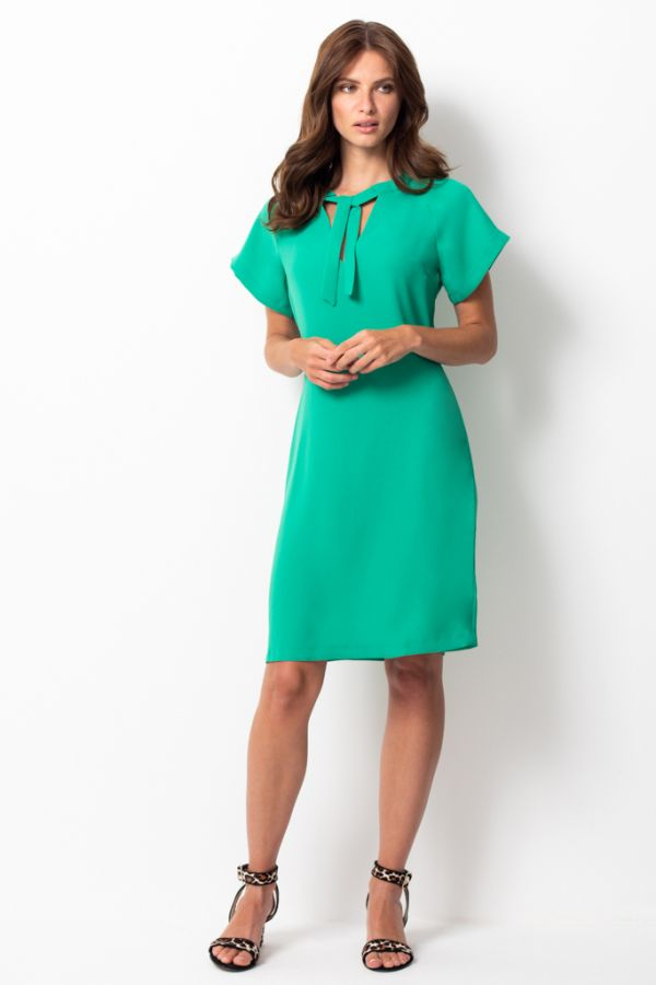 Emerald Green Sascha Shift Dress