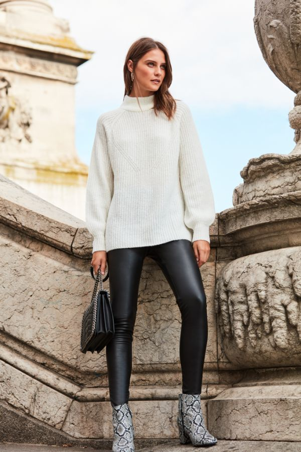 Ivory Chunky Knit Jumper