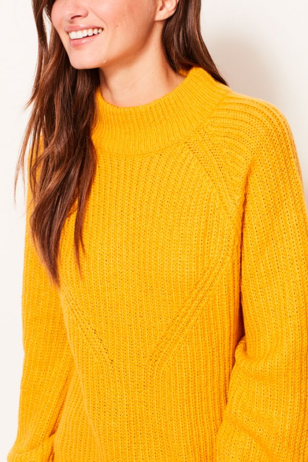 Golden Yellow Chunky Knit Jumper