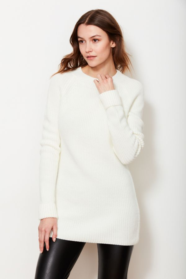Ivory Open Back Jumper