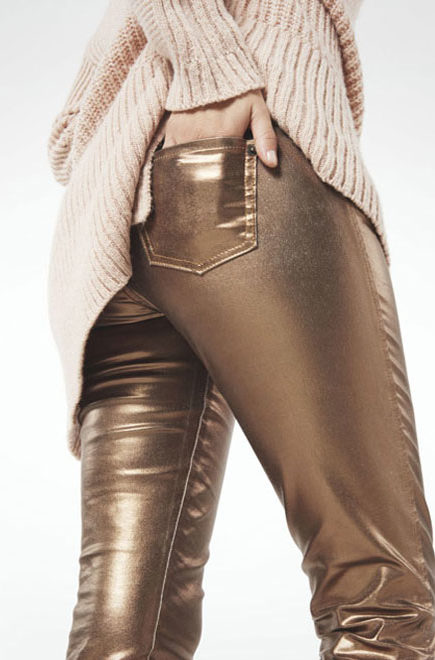 3 WAYS TO WEAR: METALLIC JEANS