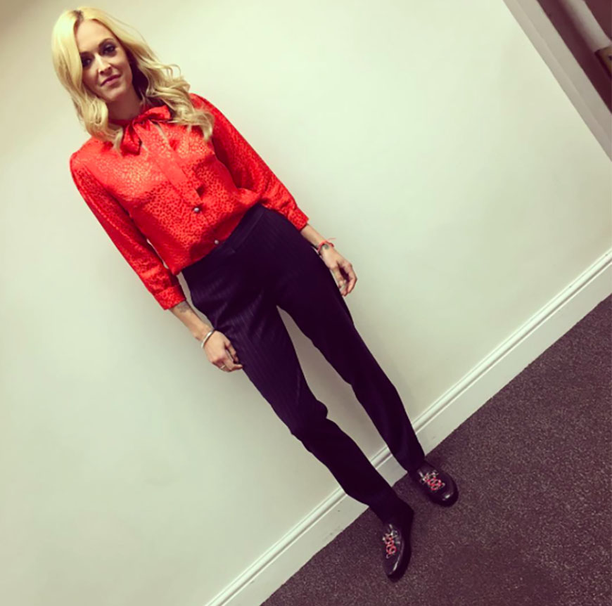 13c0753e1f Copy the look by tucking your red shirt into our wide leg trousers or try  it with our metallic cigarette trousers when the occasion calls for  something more ...